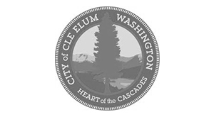 City of Cle Elum Washington Logo.